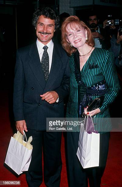 Actress Katherine Helmond and artist David Christian attending the premiere of 'Immediate Family' on October 24 1989 at the Hollywood Palladium in...