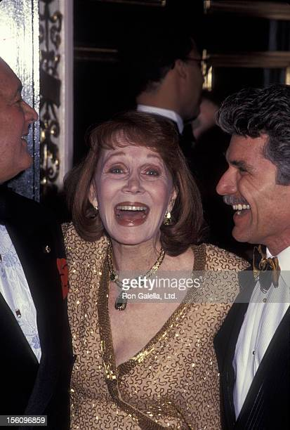 Actress Katherine Helmond and artist David Christian attending 'The Red Ball Benefiting Mary Lee Johnson Institute' on February 13 1995 at the Plaza...