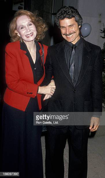 Actress Katherine Helmond and artist David Christian attending the opening of 'Sarah in America' on June 11 1989 at the Pasadena Playhouse in...