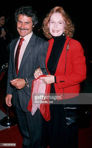Actress Katherine Helmond and David Christian attending the premiere of 'Out Of Control' on April 11 1989 at the Academy Theater in Beverly Hills...