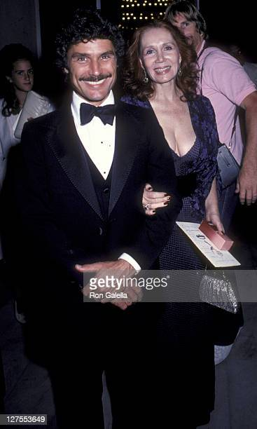 Actress Katherine Helmond and husband David Christian attend 33rd Annual Primetime Emmy Awards on September 13 1981 at the Pasadena Civic Auditorium...