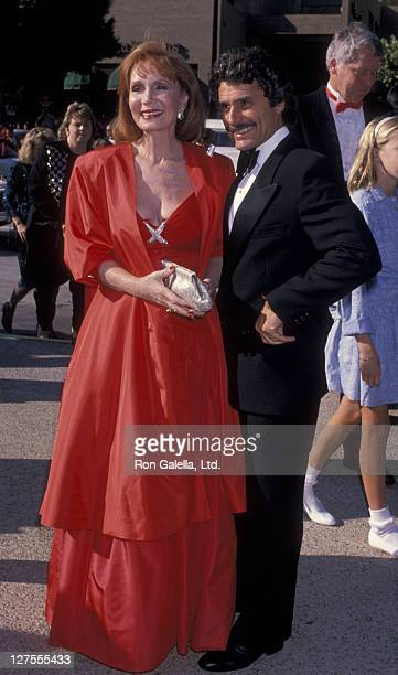 Actress Katherine Helmond and husband David Christian attend 41st Annual Primetime Emmy Awards on September 17 1989 at the Pasadena Civic Auditorium...