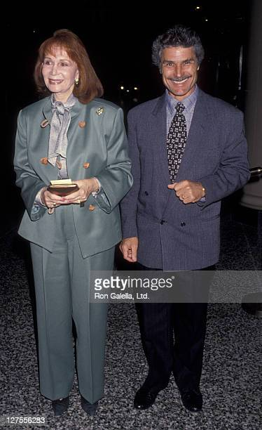 Actress Katherine Helmond and husband David Christian attend Gala Honoring Ella Fitzgerald on April 10 1993 at the Beverly Wilshire Hotel in Beverly...