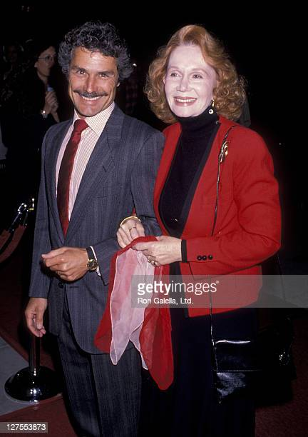 Actress Katherine Helmond and husband David Christian attend the premiere of Out Of Control on April 11 1989 at the Academy Theater in Beverly Hills...