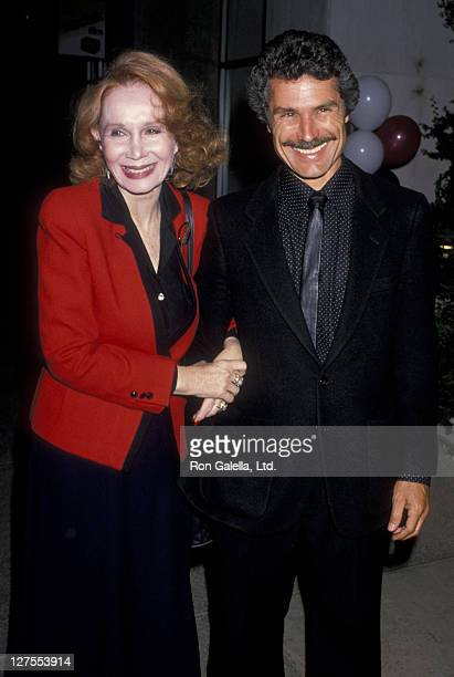 Actress Katherine Helmond and husband David Christian attend the opening of Sarah In America on June 11 1989 at the Pasadena Playhouse in Pasadena...