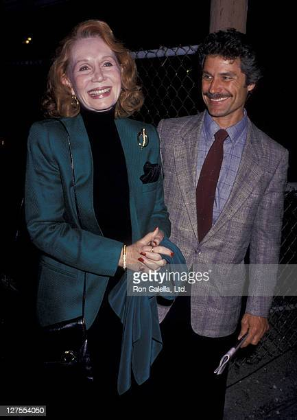 Actress Katherine Helmond and husband David Christian attend the opening of Hapgood on April 12 1989 at the James Doolittle Theater in Hollywood...
