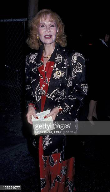 Actress Katherine Helmond and husband David Christian attend the opening of Byron on August 23 1989 at the James Doolittle Theater in Hollywood...