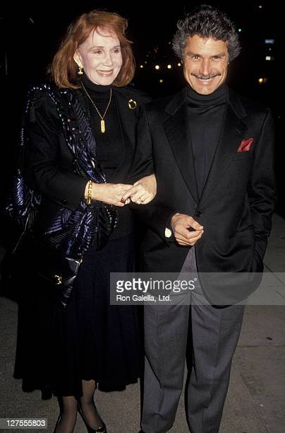 Actress Katherine Helmond and husband David Christian attend the opening of Cyrano de Bergerac on November 6 1990 at the Royale Theater in Beverly...