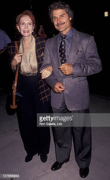 Actress Katherine Helmond and husband David Christian attend the premiere of The Fisher King on September 16 1991 at the Academy Theater in Beverly...