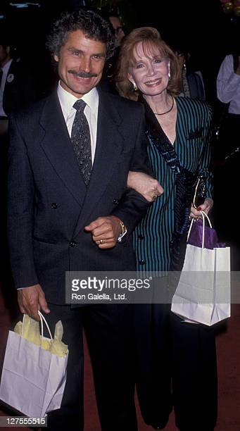 Actress Katherine Helmond and husband David Christian attend the premiere party for Immediate Family on October 24 1989 at the Hollywood Palladium in...