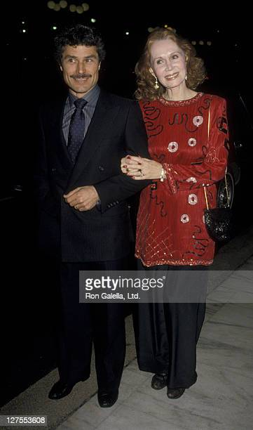 Actress Katherine Helmond and husband David Christian sighted on December 17 1986 at the Century Plaza Hotel in Century City California