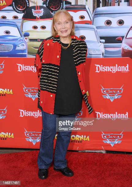 Actress Katherine Helmond arrives at Cars Land Grand Opening at Disney's California Adventure on June 13 2012 in Anaheim California