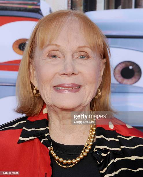 "Actress Katherine Helmond arrives at ""Cars Land"" Grand Opening at Disney's California Adventure on June 13, 2012 in Anaheim, California."