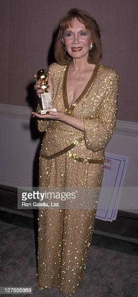 Actress Katherine Helmond attends 47th Annual Golden Globe Awards on January 20 1990 at the Beverly Hilton Hotel in Beverly Hills California