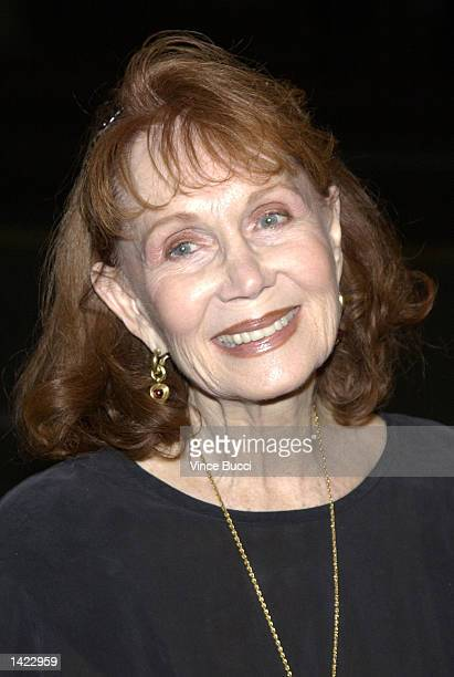 Actress Katherine Helmond attends a reception by the Academy of Television Arts and Sciences for Emmy Award nominees on September 19, 2002 at Spago...