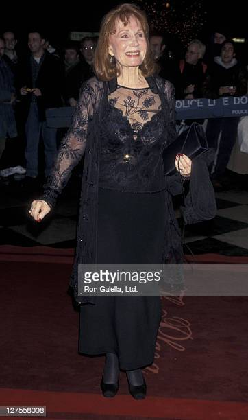 Actress Katherine Helmond attends Arista Records Grammy Party on February 24 1998 at the Plaza Hotel in New York City