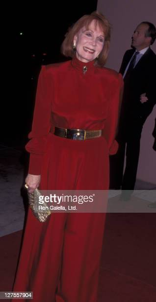 Actress Katherine Helmond attends Arista Records Grammy Party on February 27 1996 at the Beverly Hills Hotel in Beverly Hills California