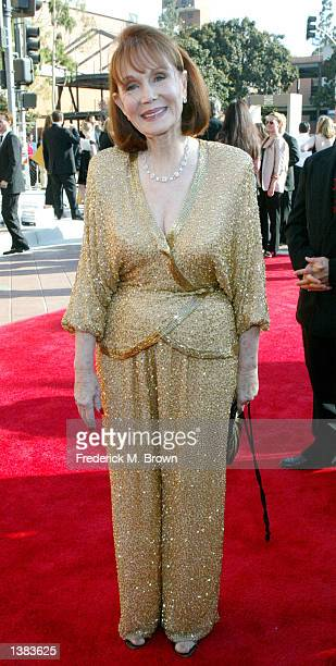 Actress Katherine Helmond attends the 2002 Creative Arts Emmy Awards at the Shrine Auditorium on September 14 2002 in Los Angeles California