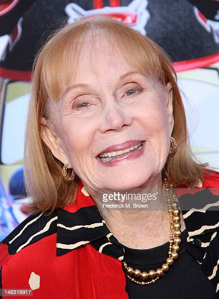 "Actress Katherine Helmond attends the Grand Opening Of ""Cars Land"" At Disneyland Resort on June 13, 2012 in Anaheim, California."