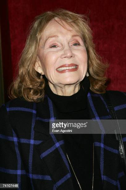 Actress Katherine Helmond attends the premiere of Georgia Rule at the Ziegfeld Theatre May 8 2007 in New York City