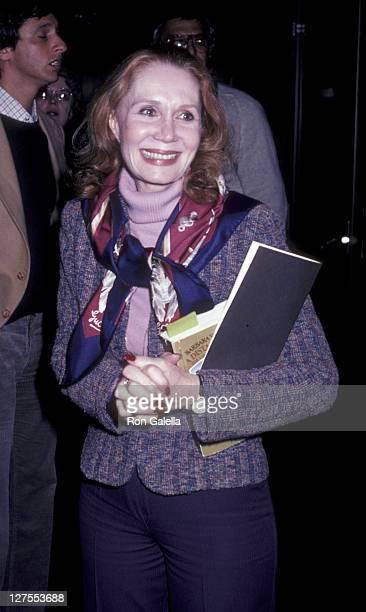 "Actress Katherine Helmond attends the screening of ""Masada"" on March 18, 1981 at the Academy Theater in Beverly Hills, California."