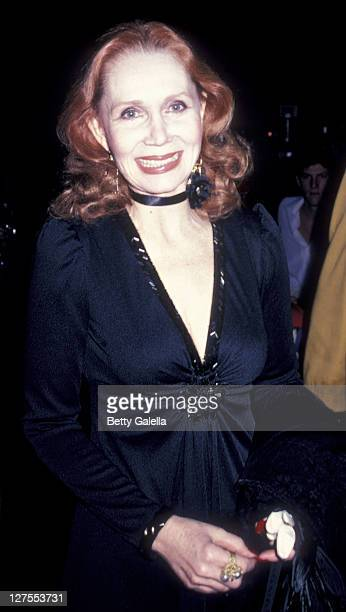 Actress Katherine Helmond attends Third Annual Media Awards on January 22 1981 at the Beverly Hilton Hotel in Beverly Hills California