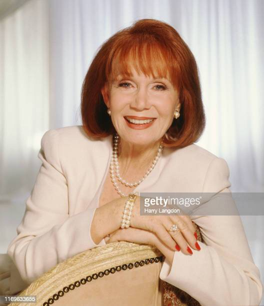 Actress Katherine Helmond poses for a portrait in 1996 in Los Angeles, California.