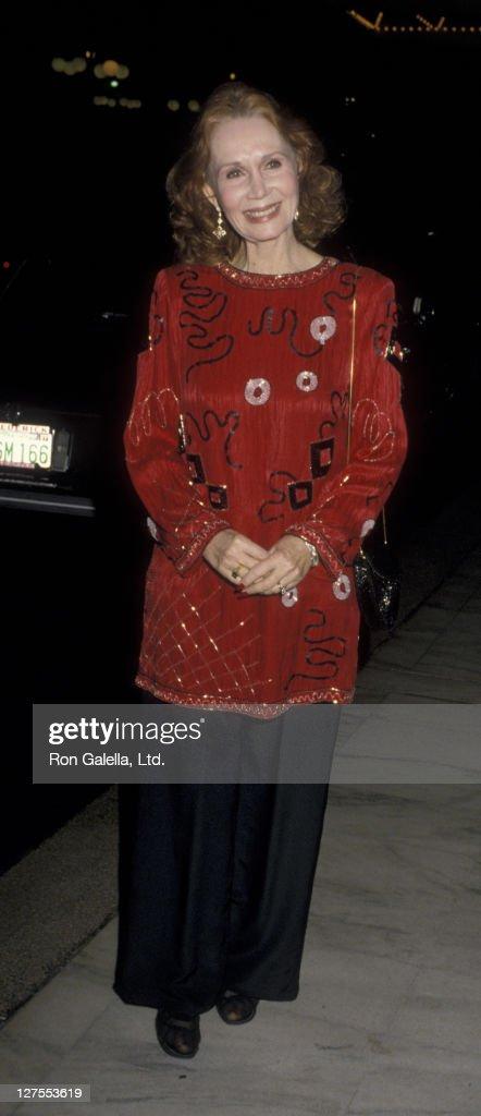 Katherine Helmond Sighted at the Century Plaza Hotel : News Photo