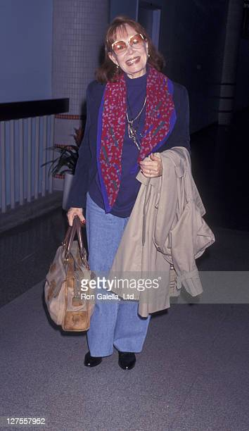 Actress Katherine Helmond sighted on May 19, 1997 at the Los Angeles International Airport in Los Angeles, California.