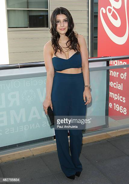 Actress Katherine Herzer attends Dizzy Feet Foundation's 5th Annual Celebration Dance Gala at Microsoft Theater on August 1 2015 in Los Angeles...
