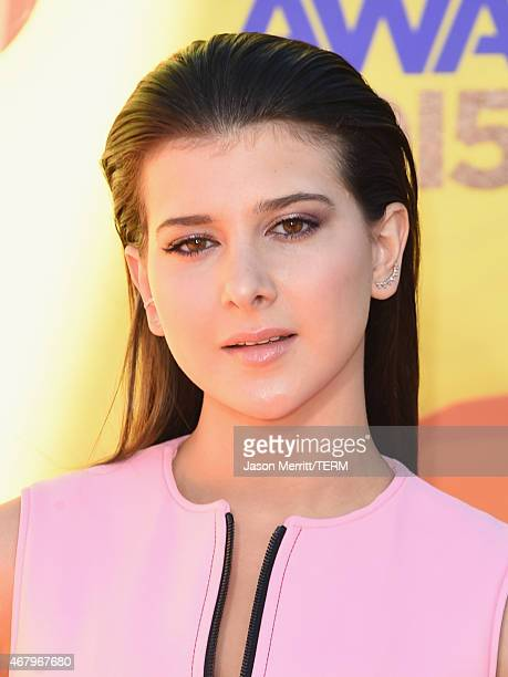 Actress Katherine Herzer attends Nickelodeon's 28th Annual Kids' Choice Awards held at The Forum on March 28 2015 in Inglewood California
