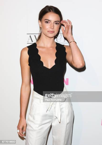 Actress Katherine Hughes attends NYLON's annual Young Hollywood May issue event with cover Star Rowan Blanchard at Avenue on May 2 2017 in Los...