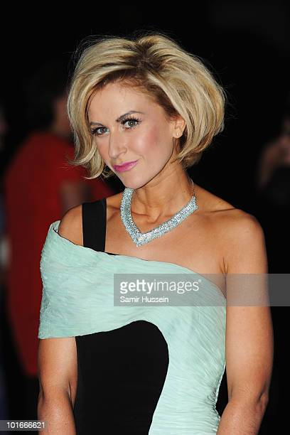 Actress Katherine Kelly arrives for the Philips British Academy Television Awards Afterparty at the Natural History Museum on June 6 2010 in London...