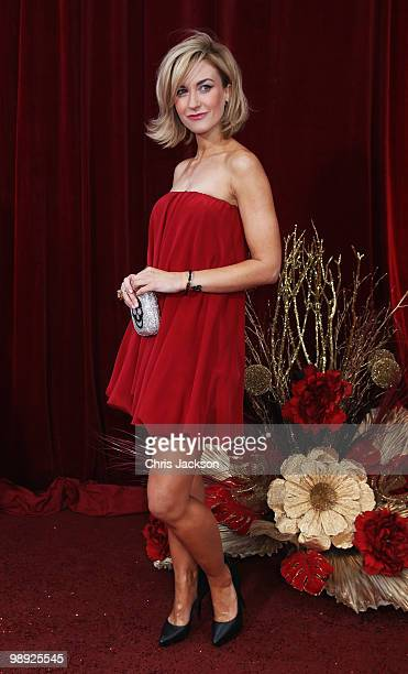 Actress Katherine Kelly attends the 2010 British Soap Awards held at the London Television Centre on May 8 2010 in London England