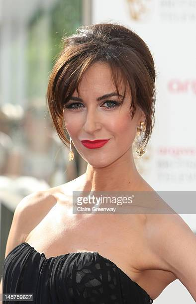 Actress Katherine Kelly attends The Arqiva British Academy Television Awards 2012 at The Royal Festival Hall on May 27 2012 in London England