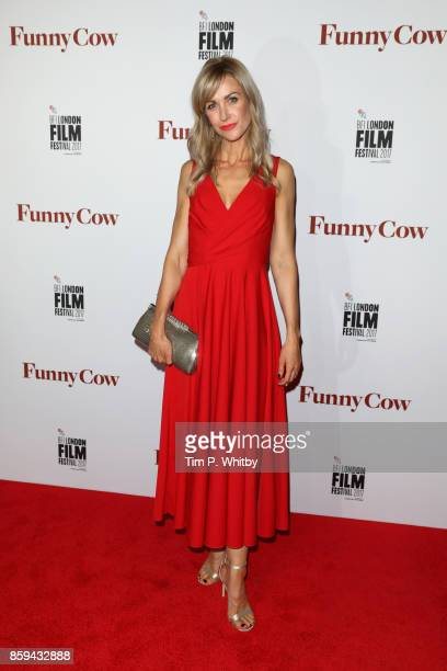 Actress Katherine Kelly attends the World Premiere of Funny Cow during the 61st BFI London Film Festival on October 9 2017 in London England