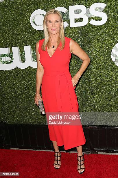 Actress Katherine Kelly Lang arrives at the CBS CW Showtime Summer TCA Party at the Pacific Design Center on August 10 2016 in West Hollywood...
