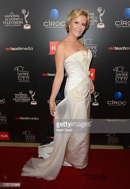 Actress Katherine Kelly Lang attends The 40th Annual Daytime Emmy Awards at The Beverly Hilton Hotel on June 16 2013 in Beverly Hills California