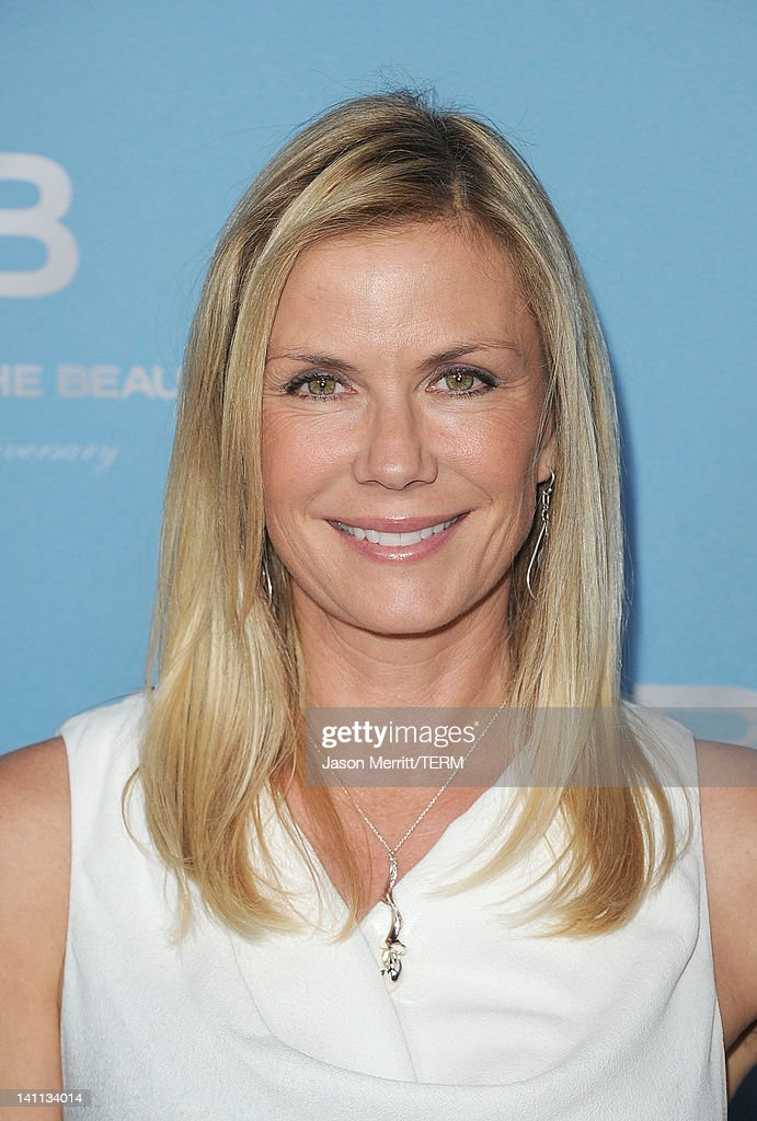 Actress Katherine Kelly Lang attends the 5th Silver Anniversary party for CBS' 'The Bold And The Beautifu on March 10, 2012 in Los Angeles, California.