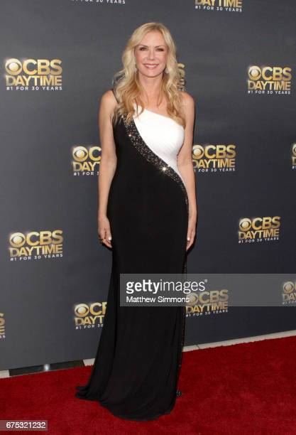 Actress Katherine Kelly Lang attends the CBS Daytime Emmy after party at Pasadena Civic Auditorium on April 30 2017 in Pasadena California
