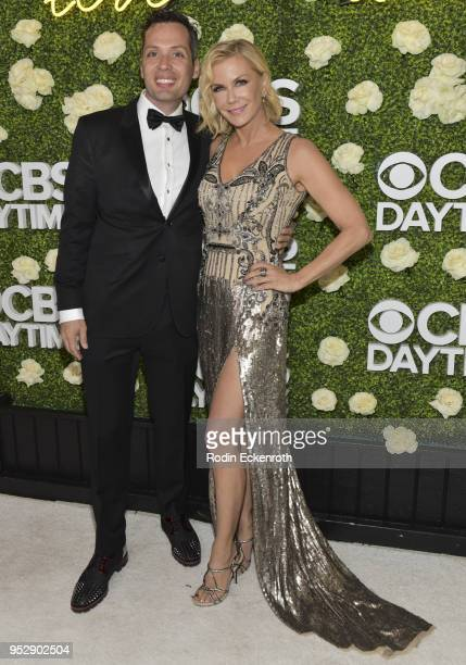 Actress Katherine Kelly Lang attends the CBS Daytime Emmy After Party at Pasadena Convention Center on April 29 2018 in Pasadena California