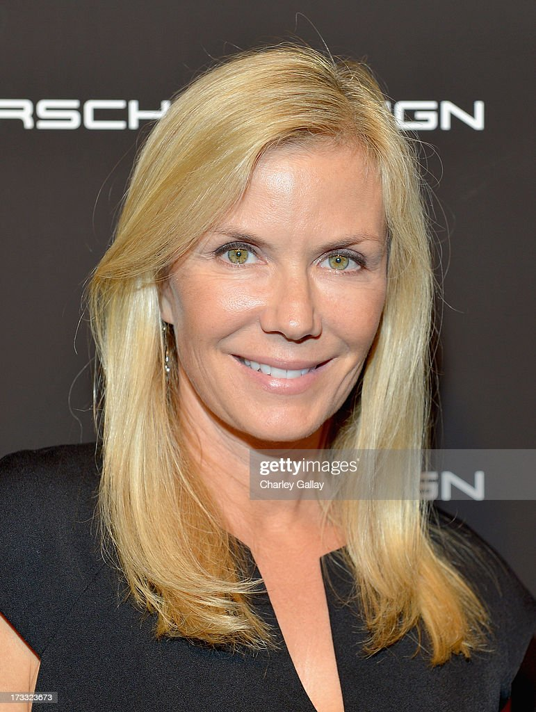 Actress Katherine Kelly Lang attends the Porsche Design and Vogue re-opening event at Porsche Design Beverly Hills on July 11, 2013 in Beverly Hills, California.