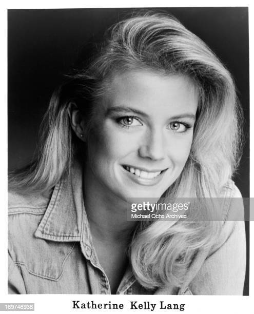 Actress Katherine Kelly Lang poses for a portrait in circa 1985