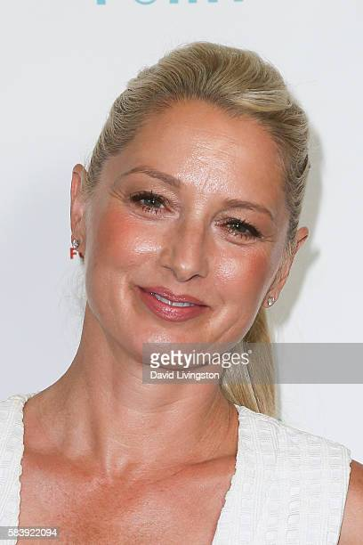 Actress Katherine LaNasa arrives at Raising The Bar To End Parkinson's at Laurel Point on July 27 2016 in Studio City California