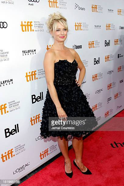 Actress Katherine LaNasa arrives at the Jane Mansfield's Car Premiere during the 2012 Toronto International Film Festival at the Roy Thomson Hall on...