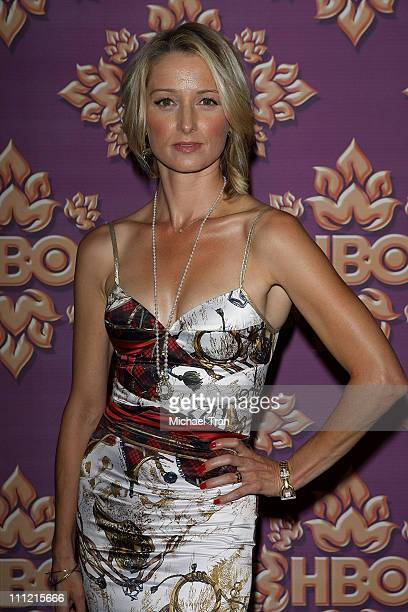 Actress Katherine LaNasa attends HBO after party for the 59th Primetime Emmy Awards at The Pacific Design Center on September 16 2007 in Los Angeles...