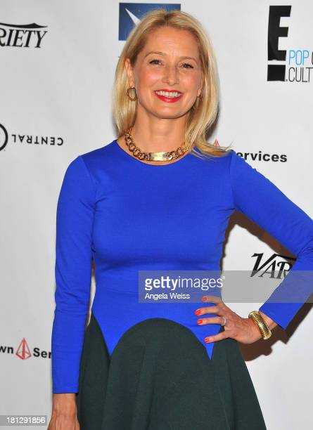 Actress Katherine LaNasa attends the 12th Annual Heller Awards at The Beverly Hilton Hotel on September 19 2013 in Beverly Hills California
