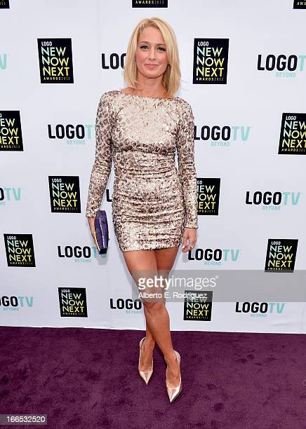 Actress Katherine LaNasa attends the 2013 NewNowNext Awards at The Fonda Theatre on April 13 2013 in Los Angeles California