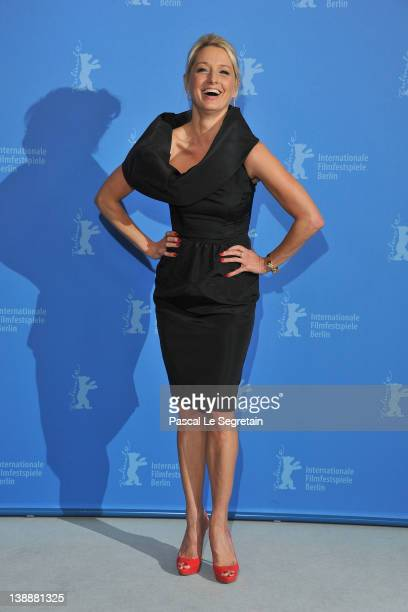 Actress Katherine LaNasa attends the Jayne Mansfield's Car Photocall during day five of the 62nd Berlin International Film Festival at the Grand...