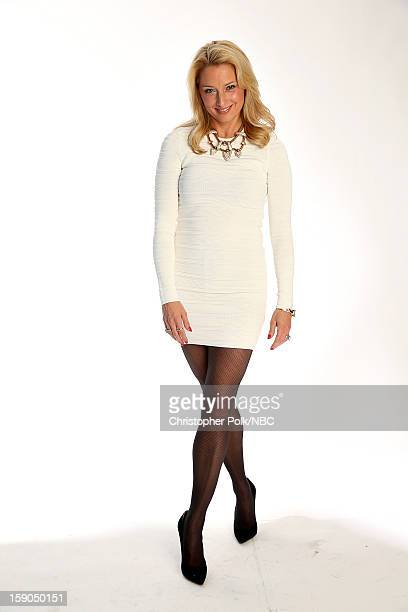 Actress Katherine LaNasa attends the NBCUniversal 2013 TCA Winter Press Tour at The Langham Huntington Hotel and Spa on January 6 2013 in Pasadena...